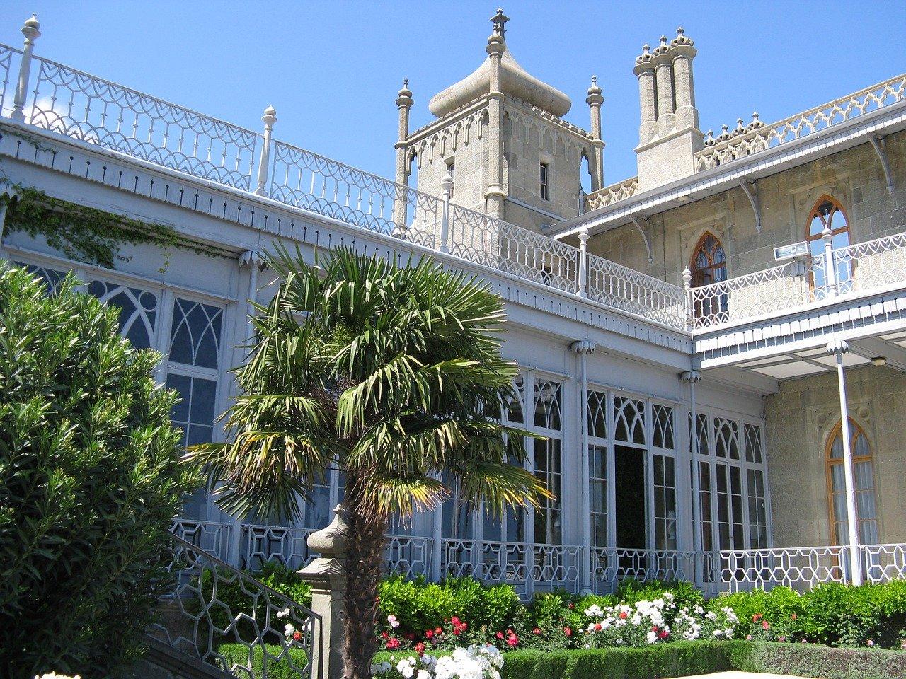 Крым. Воронцовский дворец в Алупке
